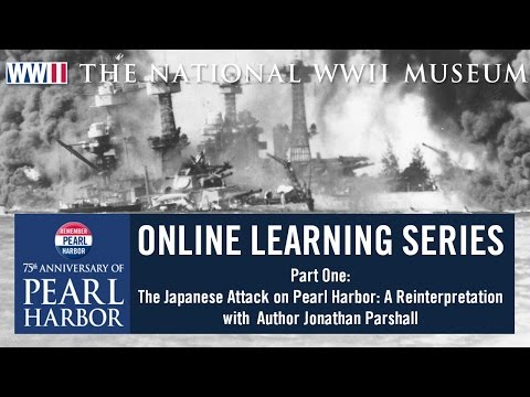 Pearl Harbor 75 Online Learning Series Part One with Author Jonathan Parshall