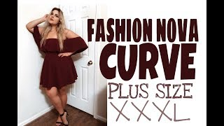 ПРИМЕРКА!!! FASHION NOVA CURVE, СТОИТ ЛИ? SIZE XXXL