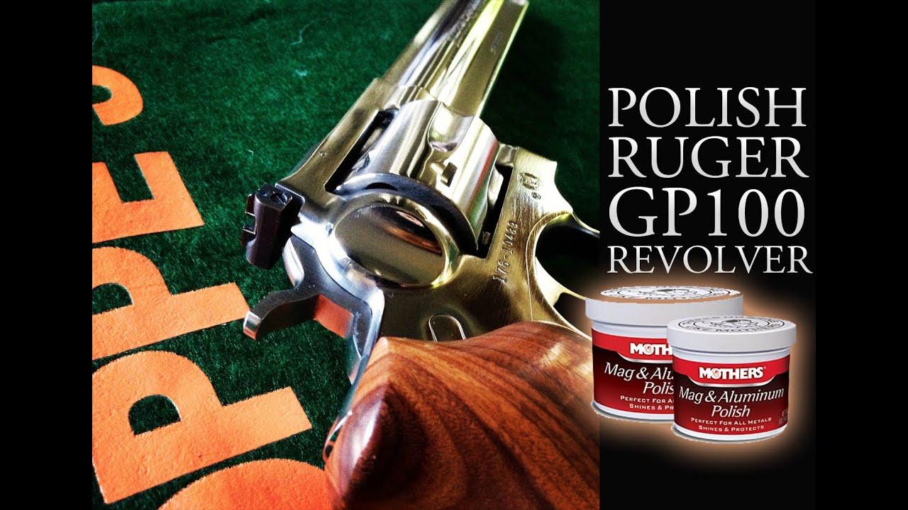 Polish A Stainless Revolver To A Mirror Shine Polish