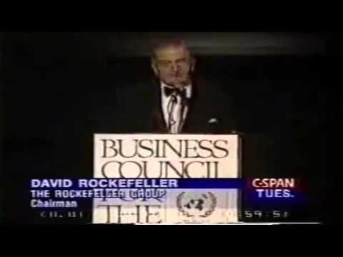 Дэвид Рокфеллер: Сокращение населения планеты всеми доступными средствами!