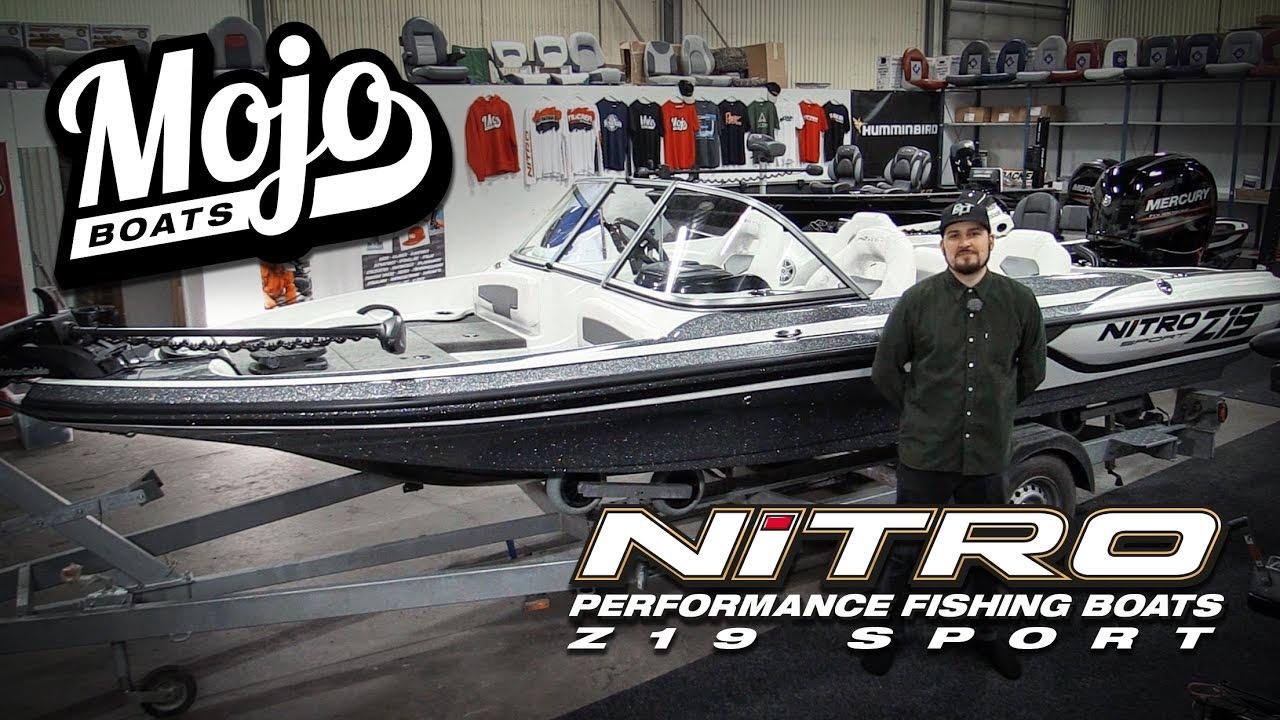 mojoboats - nitro z19 sport