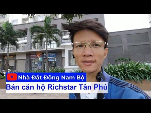 Video Bán căn hộ RichStar 3 phòng ngủ chính chủ (bao phí thuế) tặng full nội thất cao cấp
