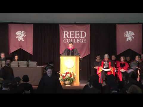 Reed College Commencement 2016
