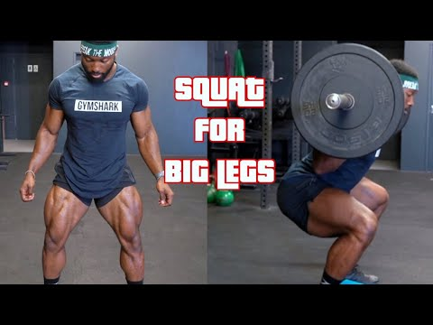 How to Squat to BUILD BIG LEGS | Quads, Hamstrings & Glutes