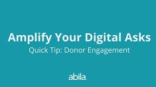 How to Amplify Your Digital Fundraising Asks