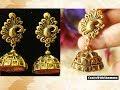 Antique Silk Thread Earrings making Tutorial  | CraftsWithShammu