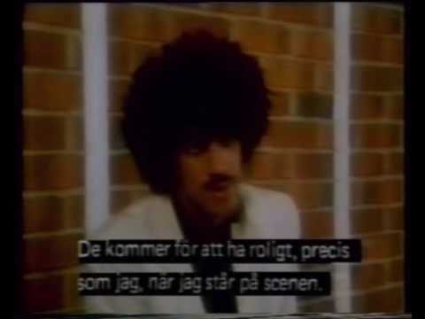 Thin Lizzy - Interview Swedish tv 1981