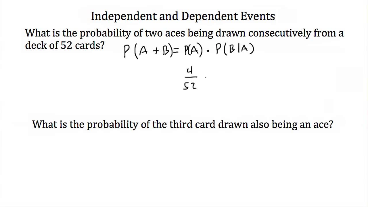 Independent And Dependent Probability Worksheets Sharebrowse – Dependent Probability Worksheet