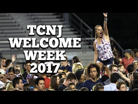 TCNJ: Welcome Week 2017