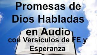 Promesas de Dios Habladas con Versículos de Amor, FE, Esper...