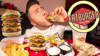 FATTIEST FATBURGER MUKBANG!
