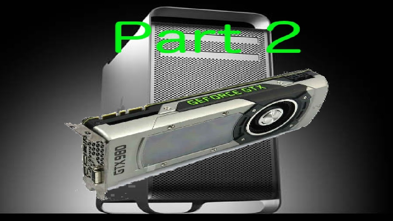 Can I use a MVC GTX980 in a MacPro1,1? | MacRumors Forums