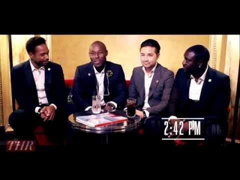 [EN] Cannes 2014 - Hollywood Reporter interviews Dr David Luu, Akon, Gary Dourdan & Jimmy Jean-Louis