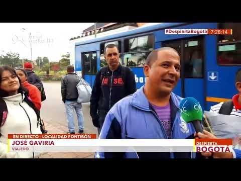 Peregrinos llegan a Bogotá por visita del Papa