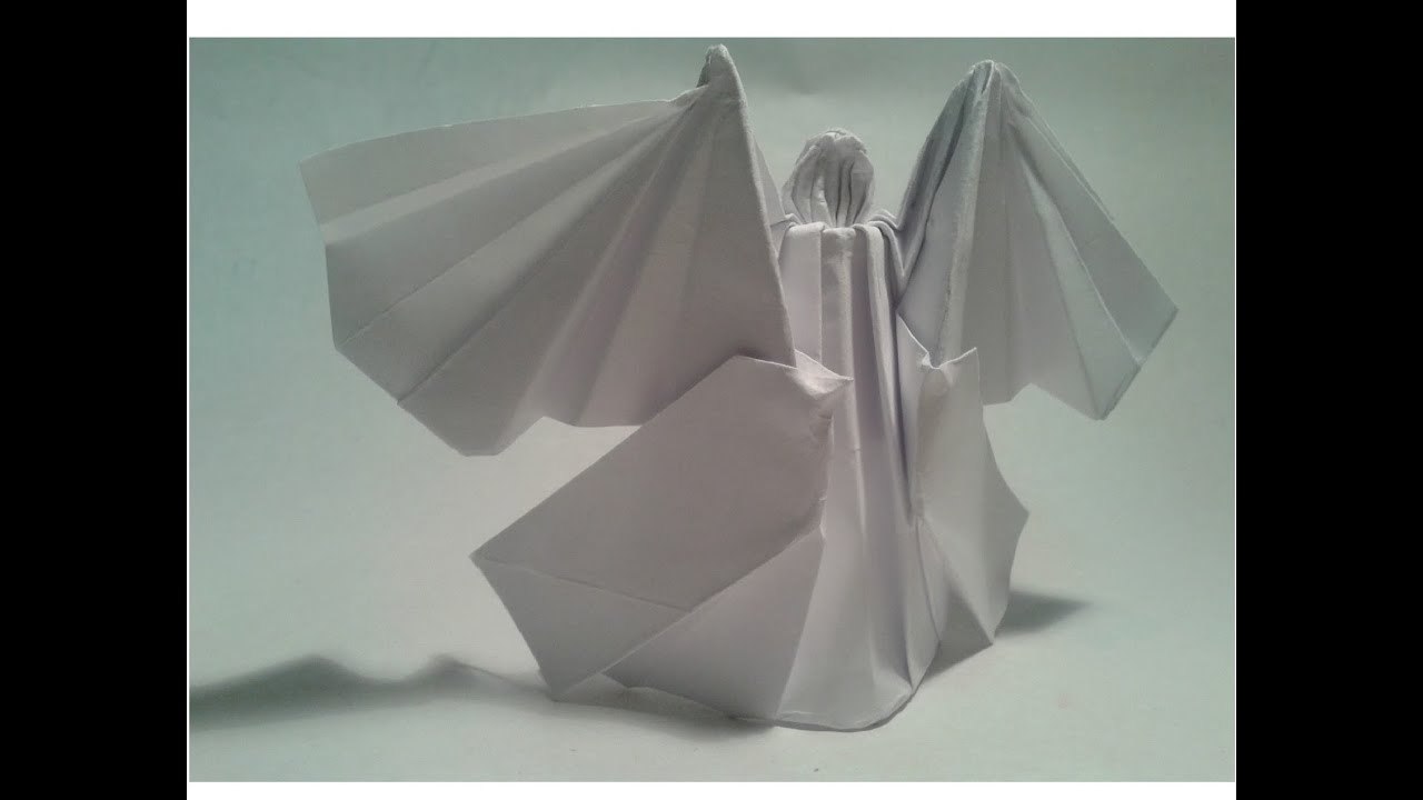 Como hacer un ngel de origami youtube - Como hacer un estor enrollable paso a paso ...