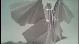Como Hacer Un ángel De Origami