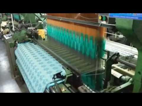 1280 Hooks Electronic Jacquard Machine on Rapier Loom -- TIATECH Surat, India