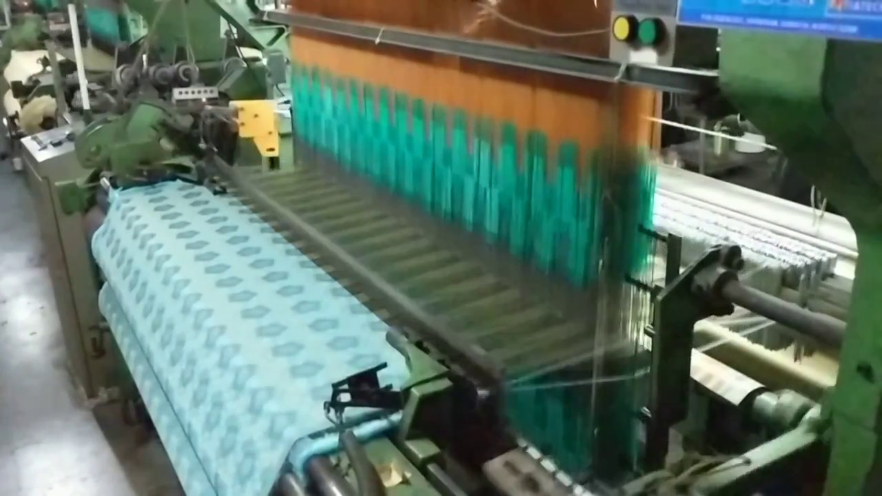 1280 Hooks Electronic Jacquard Machine on Rapier Loom ...