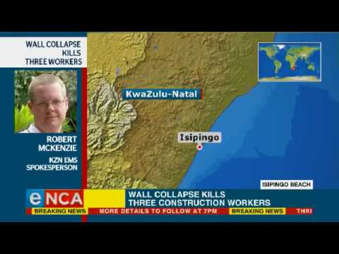 Three construction workers killed in wall collapse