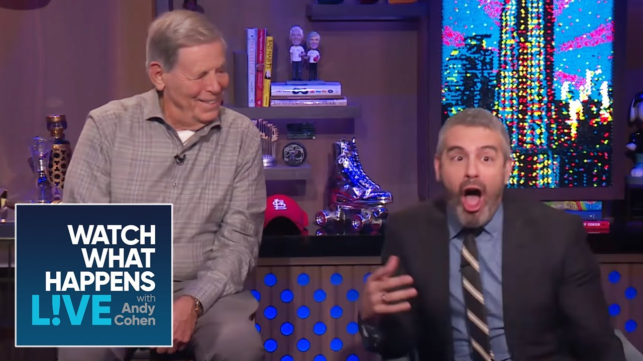 Andy Cohen's Dad, Lou, Celebrates in the Clubhouse | WWHL