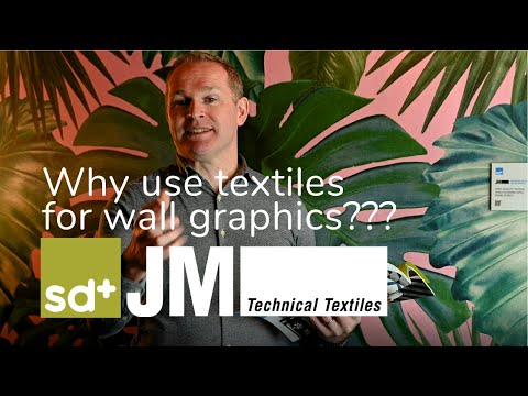 JM Textiles - Self Adhesive Textiles For Wall Graphics.