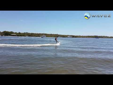Onean Carver electric jet surfboard customer test ride in No