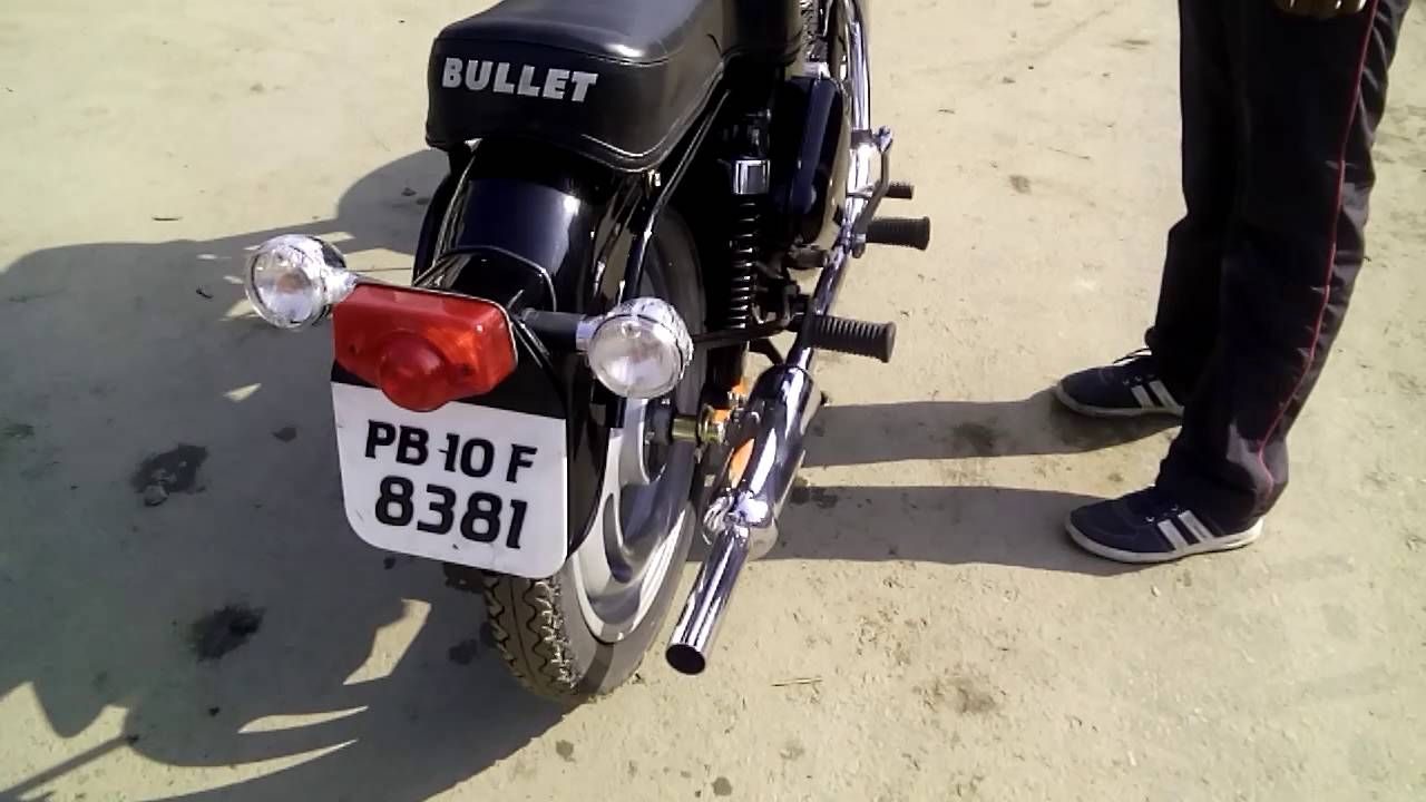 Royal Enfield Standard bullet 350 by G R Customs Punjab