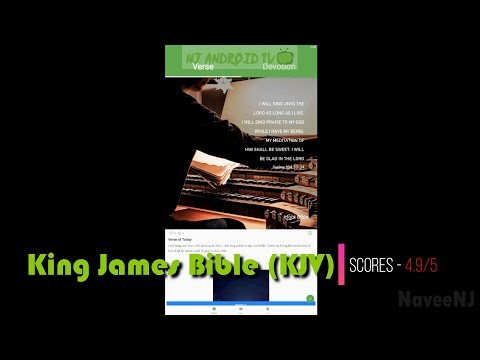 King James Bible (KJV)- Best Bible Apps For Android #01