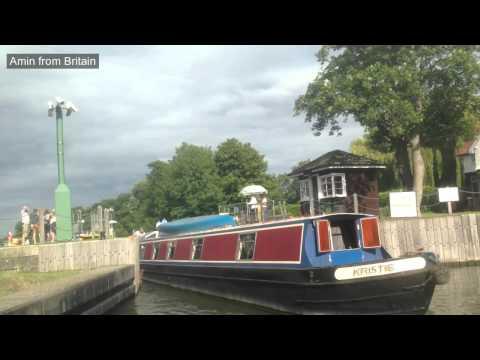 River Thames Lock in Windsor