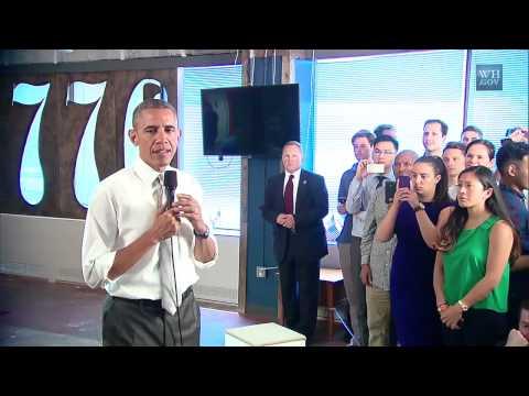 President Obama on Landscape Architects