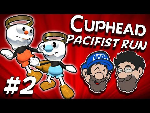 Running From The Pain || PART 2 || Cuphead PACIFIST RUN