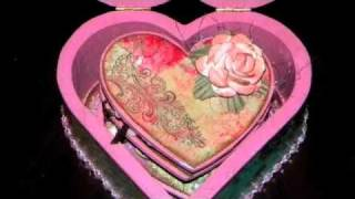 "Jubilee Altered Box & Wooden ""love Notes"""