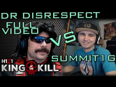 Dr DisRespect vs Summit1G Round 1 | Gameplay + Chat | H1Z1:K