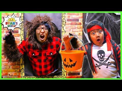 Halloween song for kids - Something Spooky Trick or Treat  Nursery Rhyme!