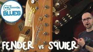 Squier Telecaster vs Fender Telecaster Part 1 / 2