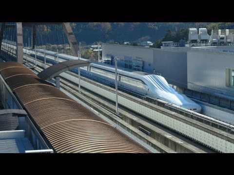 Maglev (Magnetic Levitation) Train Testing and Exhibition Ce