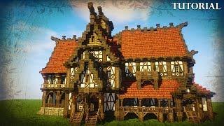 Minecraft: Medieval Tavern/Inn Tutorial YouTube