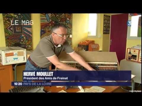 Pédagogie Freinet   France 3 Pays de Loire   5 sept 2015