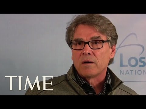 Secretary Of Energy Rick Perry Speaks About The Hanford Tunnel  TIME