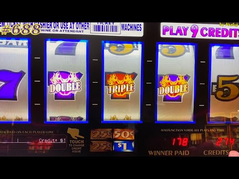 Triple Double RED HOT Strike 9 Lines / San Manuel Casino 赤富士スロット, 良く手を洗いましょう!
