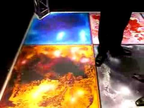 Interactive Liquid Tile