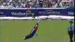 Paul Collingwood-best catch in cricket history
