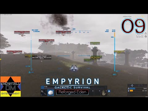 [09] ZIRAX SIEGE DRONE BASE ATTACK!!! - Empyrion: Reforged Eden Let's Play (Single Player)
