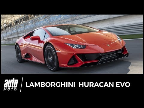 Essai Lamborghini Huracan Evo : Yes She can