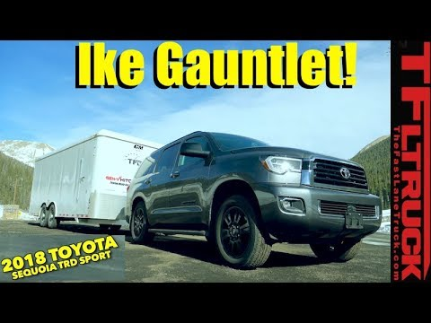 2018 Toyota Sequoia TRD Sport takes on the World's Toughest Towing Test!