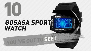 Gosasa Sport Watch For Men // New & Popular 2017