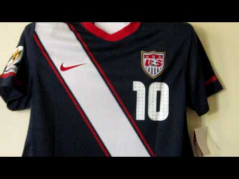USA navy  World Cup 2010 soccer jersey Donovan
