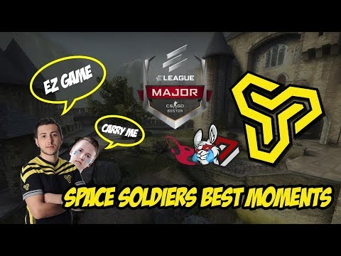 CS:GO Eleague Space Soldiers En İyi Anlar Videosu
