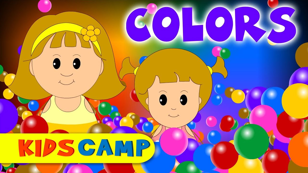 Color Song | Nursery Rhymes And Kids Songs by KidsCamp - YouTube
