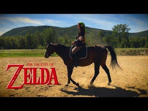 Kakariko Village - Lon Lon Ranch (Zelda OoT) - by Trifantasy